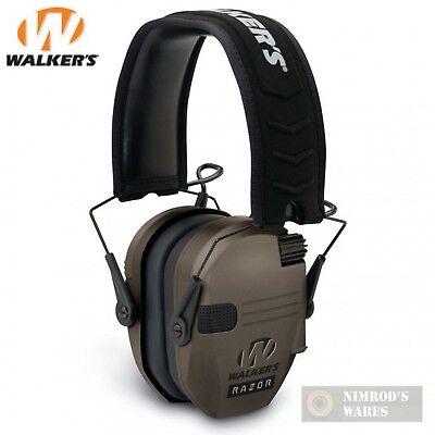 23 Earmuff (WALKER's RAZOR SLIM Low Profile EARMUFFS NRR 23dB GWP-RSEM-FDE FAST)