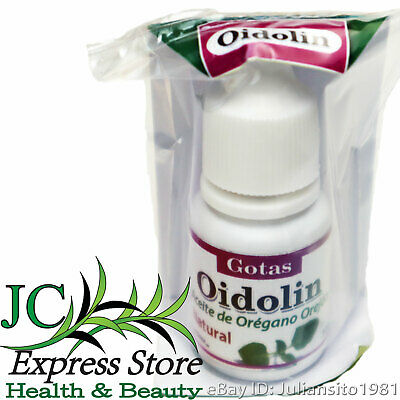 OIDOLIN EARS DROPS OREGANO OIL TREATMENT OF INFECTIONS 10 ML AND EARACHE