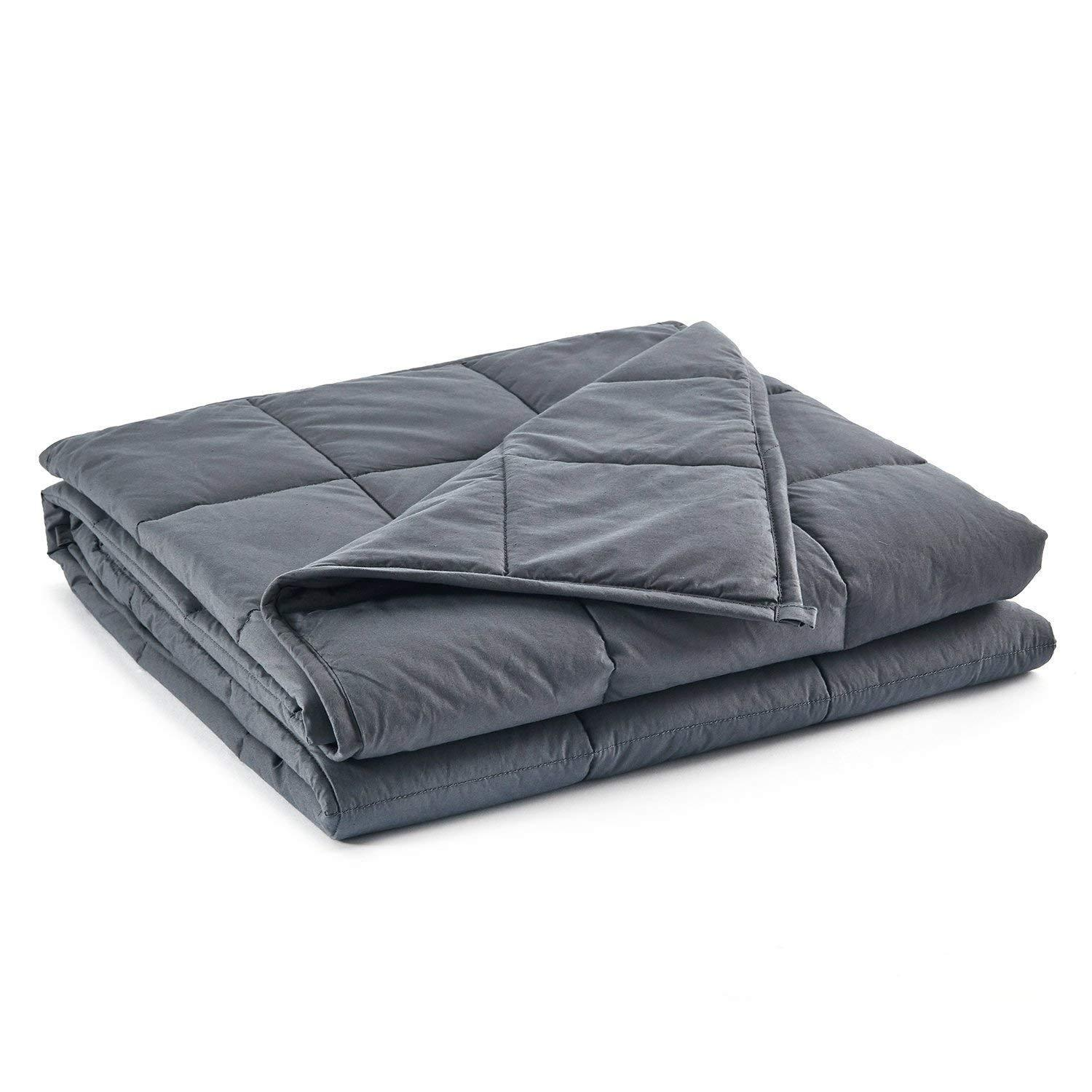 60''x80'' 22lbs Premium Cotton Weighted Heavy Blanket for An