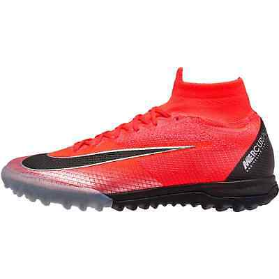 newest 0bfb2 47978 Nike Superfly 6 Elite CR7 TF Crimson Red AJ3572-600 11 Soccer Turf Cleats  Boots