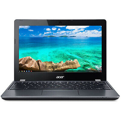 Acer Intel Celeron Chromebook 11 C740-C4PE 11.6-inch HD, 4 GB, 16GB SSD, Black