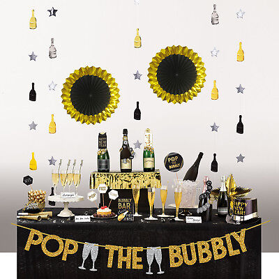 Deluxe Bubbly Bar Decorating Kit Cocktail Party Prop Venue Events Christmas