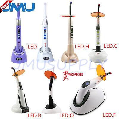 Woodpecker Dental Led Curing Light Cordless 1 Sec I Led Lamp Led B C F H O Pro