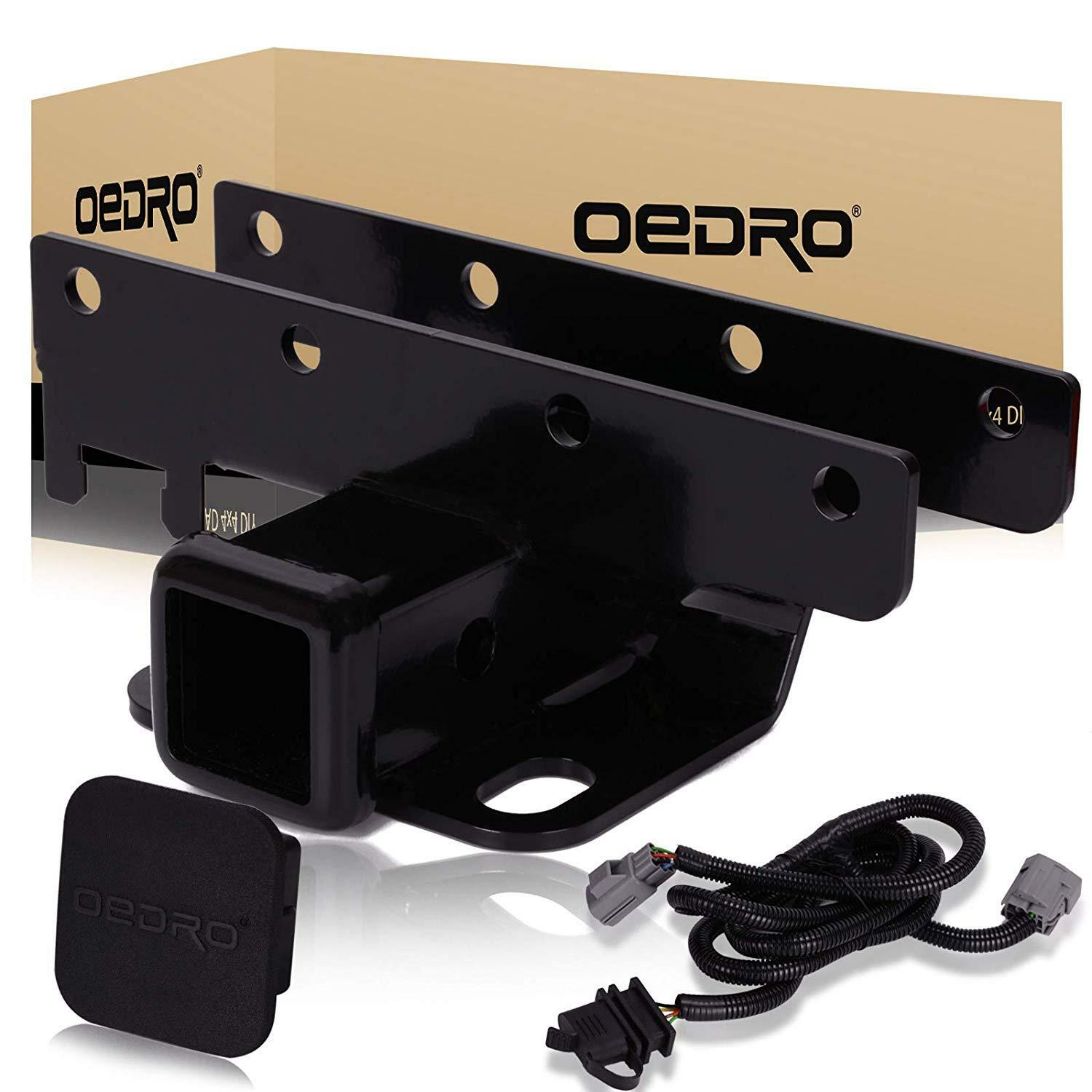 OEDRO 2 inch Rear Bumper Trailer Hitch Receiver Kit ... on jeep xj wiring harness, 1995 jeep wiring harness, jeep liberty wiring harness, jeep wrangler trailer wiring, mazda wiring harness, jeep wk wiring harness, jeep wrangler wiring diagram, jeep wrangler wiring harness connectors, nissan wiring harness, radio wiring harness, dodge wiring harness, fj cruiser wiring harness, ford wiring harness, jeep cj wiring harness, jeep commander wiring harness, jeep tow wiring harness, jeep wrangler aftermarket stereo, toyota wiring harness, jeep trailer wiring harnesses, jeep cj7 wiring-diagram,