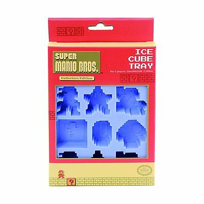 Mario Brothers Party Ideas (Super Mario Bros Ice Cube Tray. Funky Retro Party Cubes Gift Idea for the)