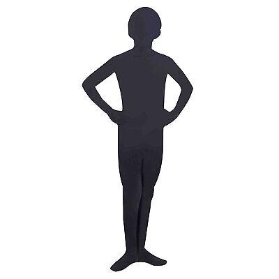 Forum Novelties I'm Invisible Stretch Black Bodysuit Costume, Child's Medium - Invisible Costume