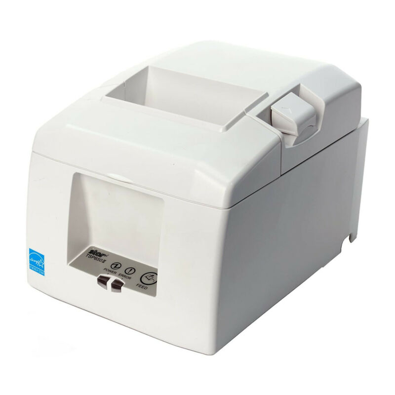 Star Micronics TSP654IIBi2 Bluetooth Thermal Receipt Printer (White)