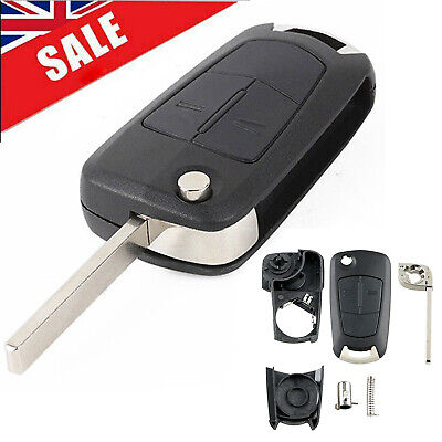 Remote Key Fob Case Shell  For Vauxhall Opel Astra Vectra Corsa Zafira UK