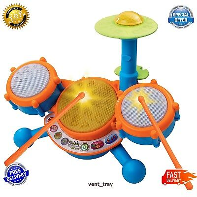 Educational Toys For 2 Year Olds Baby Kids Toddlers Boy Girl Learning Drum Set