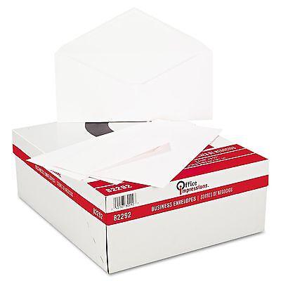 500 White Business Mailing Letter Envelopes Box Size 10
