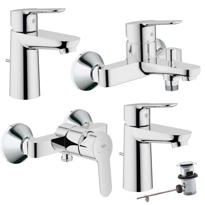 Grohe BauEdge Einhand Waschtisch-Armatur Wannenarmatur Brausearmatur Dusche Bad