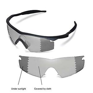 new walleva polarized transitionphotochromic lenses for oakley m frame strike