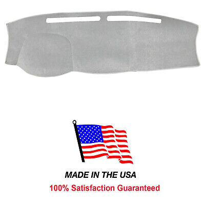 Light Grey Carpet Dash Cover Compatible w/ 2016-2018 Nissan TITAN DA113-1 ()