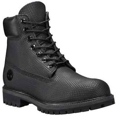 Timberland CA1GVA Men's 6-Inch Premium Waterproof Boots Black Helcor 10 W US