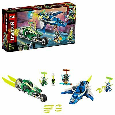 LEGO 71709 NINJAGO Jay and Lloyd's Velocity Racers with Plane and Bike Speeders
