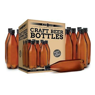 Mr. Beer 740ml Deluxe Homebrewing 2 Gallon Beer Bottling Set](Mr Beer Bottles)