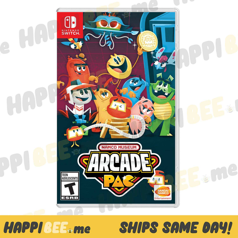 Namco Museum Arcade Pac (Switch LITE)🍯Nintendo (Arcade Video Game) [Brand New]