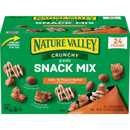 Nature Valley Crunchy Granola Snack Mix Oats
