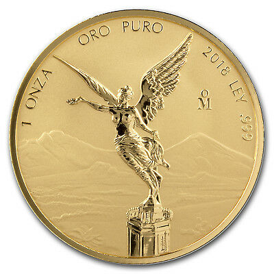 2018 Mexico 1 oz Reverse Proof Gold Libertad - SKU#180848