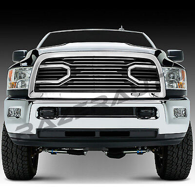 10-18 Dodge Ram 2500+3500 Big Horn Chrome Packaged Grille+Replacement Shell