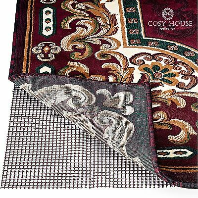 High Quality Non-Slip Area Rug Pads by Cosy House - Fully Washable Best Pad