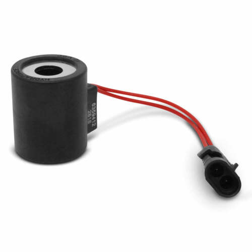 HydraForce 6359412 Solenoid Valve Coil w/ Weatherpack Connector, 12v DC
