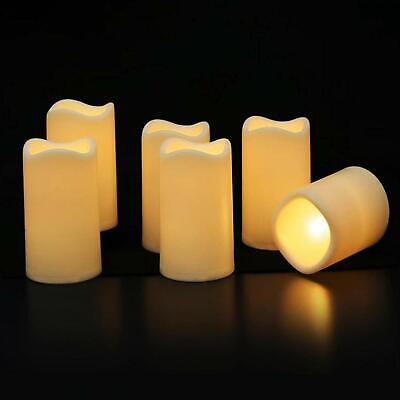 Waterproof Flameless Candles with Timer - Outdoor Battery Operated Led Flickerin ()