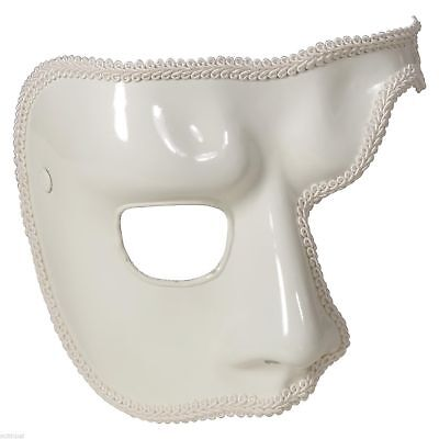 Phantom Of The Opera Mask Venetian Masquerade Half Face Mask Costume Accessory