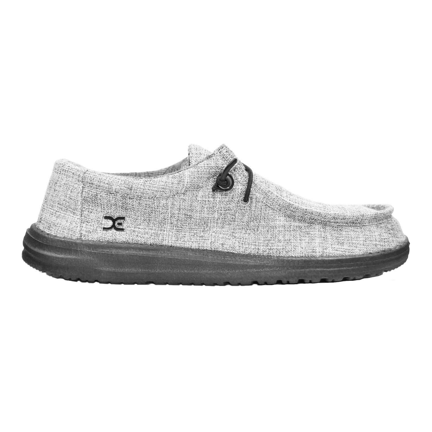 HEY DUDE Wally V Linen Men | Iron (111723901) 1