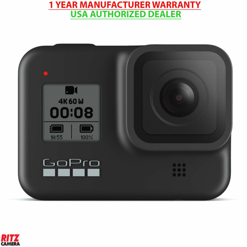 GoPro HERO8 Black - Waterproof Action Camera with Touchscreen and 4K (CHDHX-801)