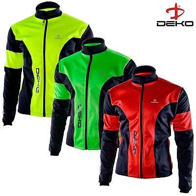DEKO HUM Bicycle Softshell Cycling Jacket Winter Jacket Cold Wear Bicycle Top