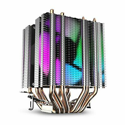 darkFlash L6 Gaming CPU Cooler 90mm Fan Dual Tower LED PC Intel/AMD Motherboard