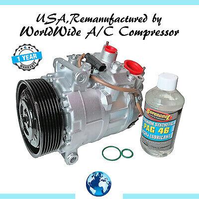 2008-2010 535i,2009-2010 535i xDrive,2008 535xi OEM Reman A/C Compressor