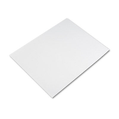 Pacon Four-Ply Poster Board 28 x 22 White 25/Carton 104159