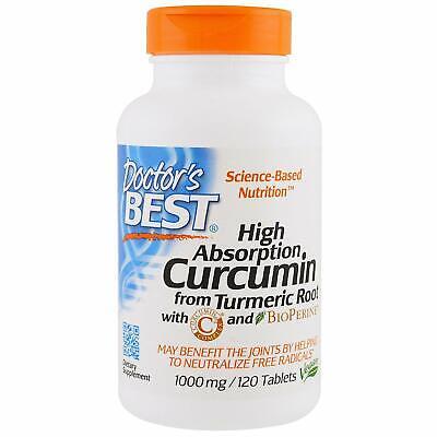 Doctors Best Curcumin From Turmeric With Bioperine 500 Mg 120