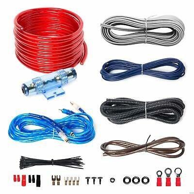 BOSS Audio KIT2 8 Gauge Amplifier Installation Wiring Kit Car Amplifier