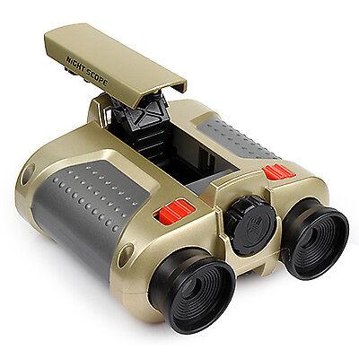 Surveillance Scope Binoculars Telescope Pop-Up Light Toy Gift Kids Night Vision