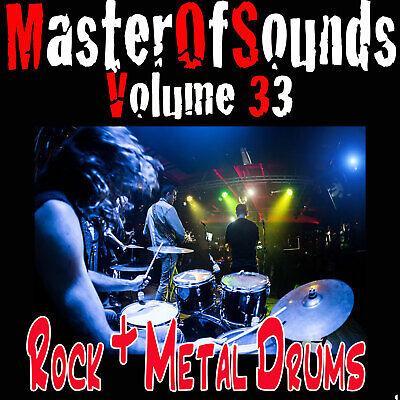 Rock and Metal Drum Loops  UNIVERSAL Wav Loops + Samples  FAST DOWNLOAD
