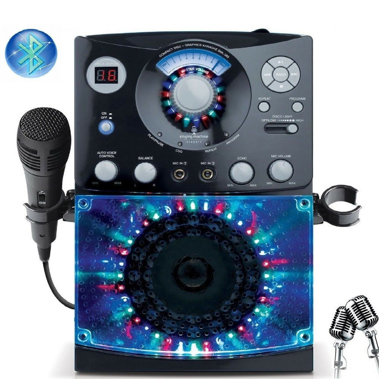 "Singing Machine CD+G KARAOKE Built-In 5"" Color TFT Monitor B"