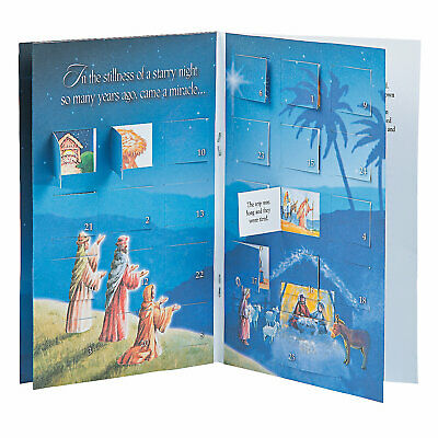 Advent Calendar With Story - Stationery - 12 Pieces