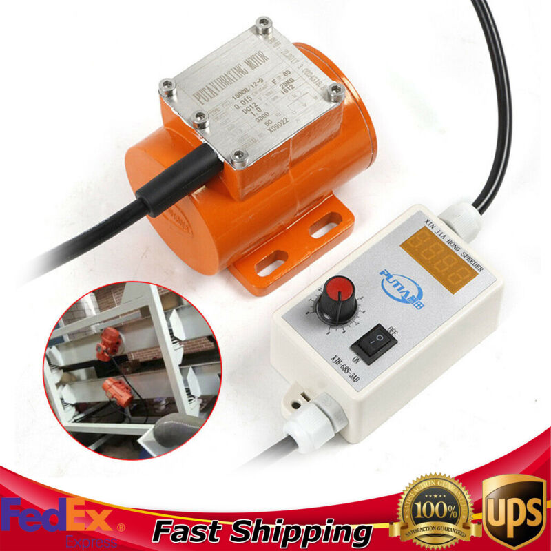 15W Vibrating Motor Adjustable Speed for Feeding Machine+Motor Speed Controller