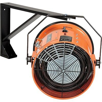Electric Wall HEATER - Forced Fan - 240 Volts - 3 Phase - 51,180 BTU - 1,500 CFM
