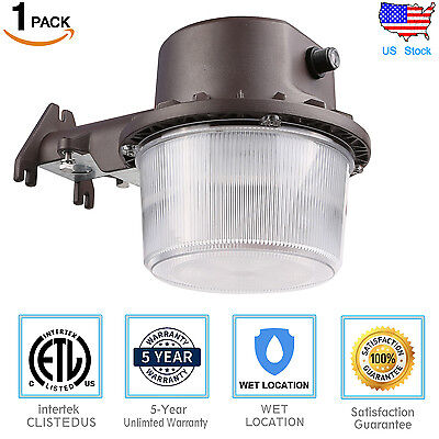 Outdoor 35w LED Wall Mount Yard Security Light Dusk to Dawn 300w Equivalent