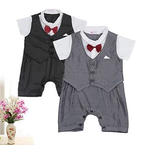 Boy christening formal party waistcoat suit dress outfit sets ebay