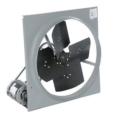 48 Exhaust Fan - Belt Driven - 230460 V - 1 Hp - 21500 Cfm - 3 Ph - 3.8 Amps