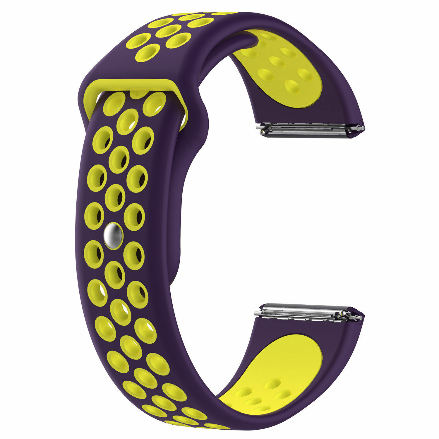 Sport Silicon Replacement Wristband Strap Breathable Watch Band For Fitbit Versa 1