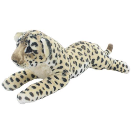 TAGLN Stuffed Animals Toys Cheetah Brown Leopard Plush Pillows for Kids 24 Inch