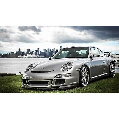 - 05-08 Porsche 997 GT GT-3 Look KBD Urethane Front Body Kit Bumper+Lip!!! 37-2147