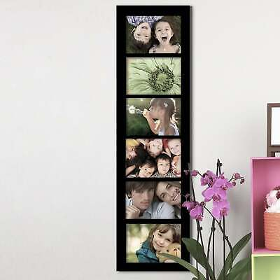 6 Openings 5x7 Collage Picture Frame - Wood Photo Collage