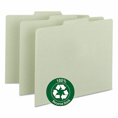 Smead Recycled Tab File Guides Blank 13 Tab Pressboard Letter 100box 50334